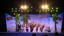 """Chương trình nghệ thuật Kỷ niệm Lễ 30/4 và 01/5 chủ đề """"Đất nước trọn niềm vui"""""""